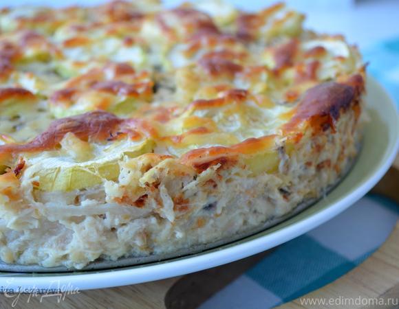 Вкусовая бомба — куриный пирог от Юлии Высоцкой!