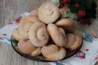 Рецепт красивого слоистого печенья «Сахарные улитки». Вкусно и быстро 1